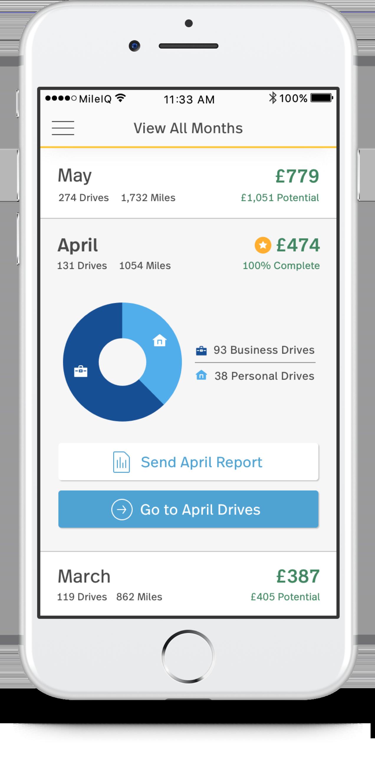 MileIQ for UK: Automatic mileage-tracking app